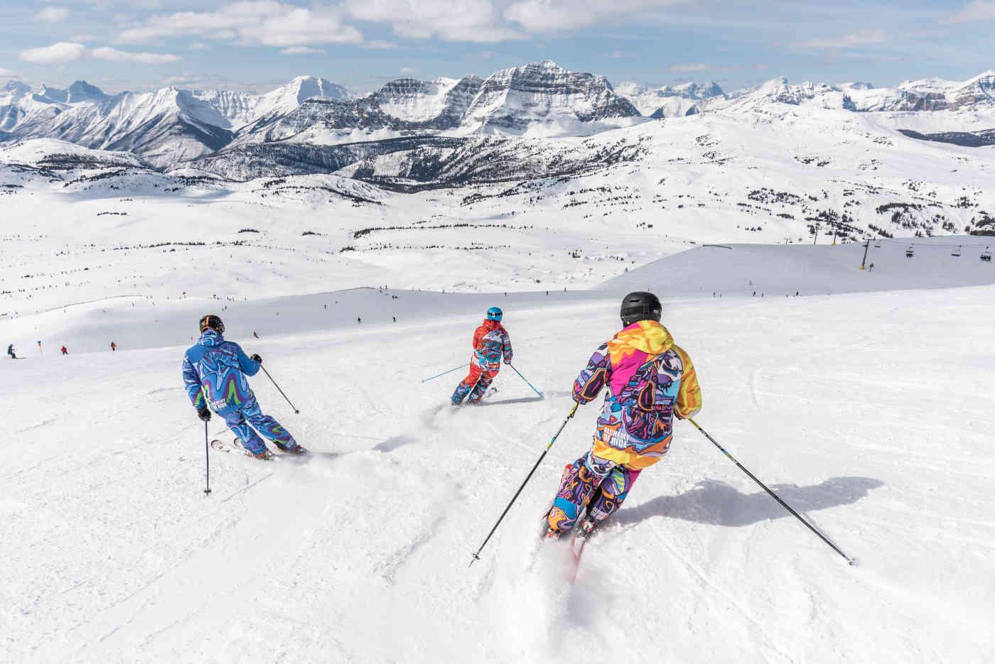 Uraz kolana podczas jazdy na nartach